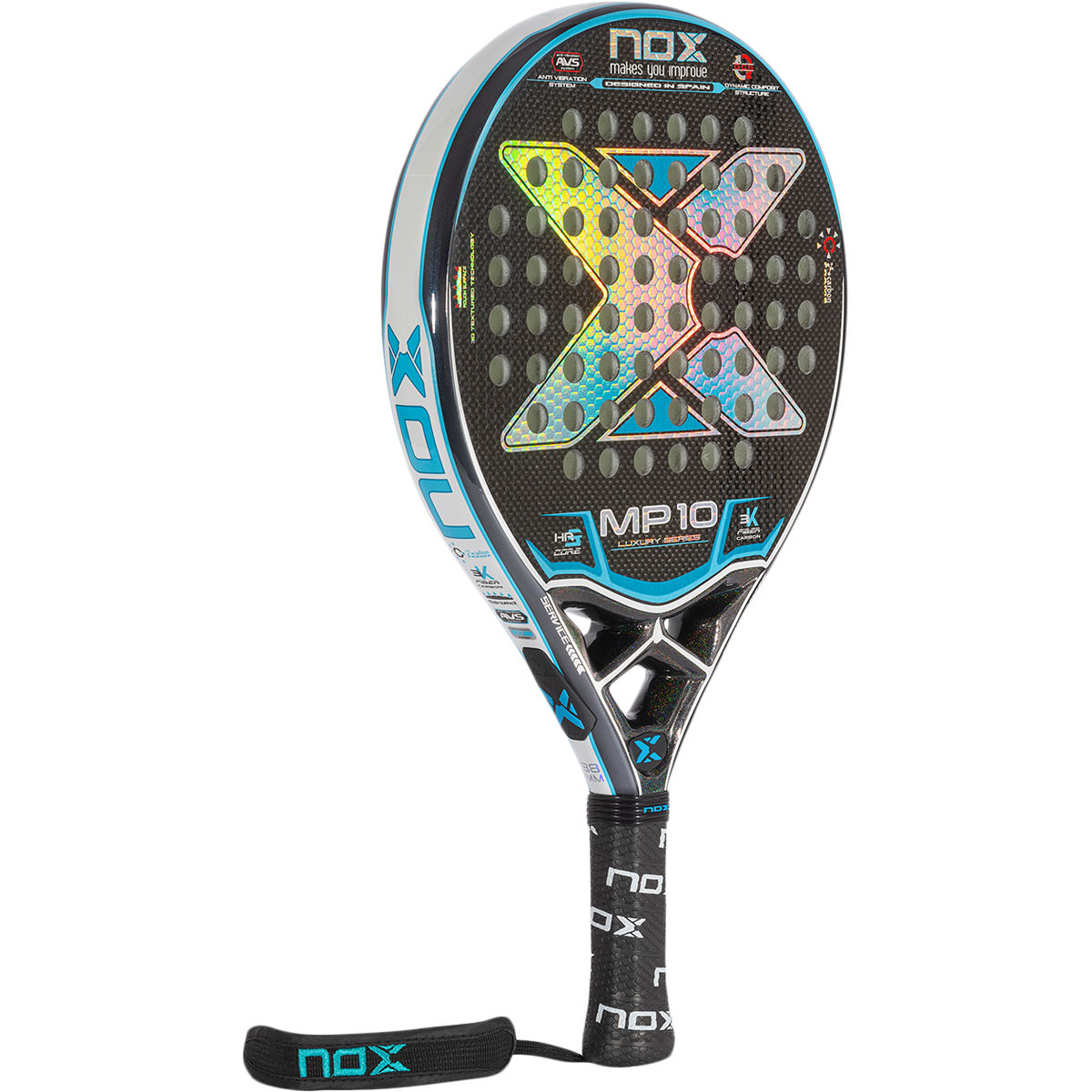 NOX MP10 Luxury Gemelas Atómikas Padel Bat
