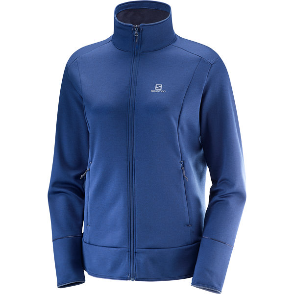 Salomon Discovery Full Zip Mellemlag Dame