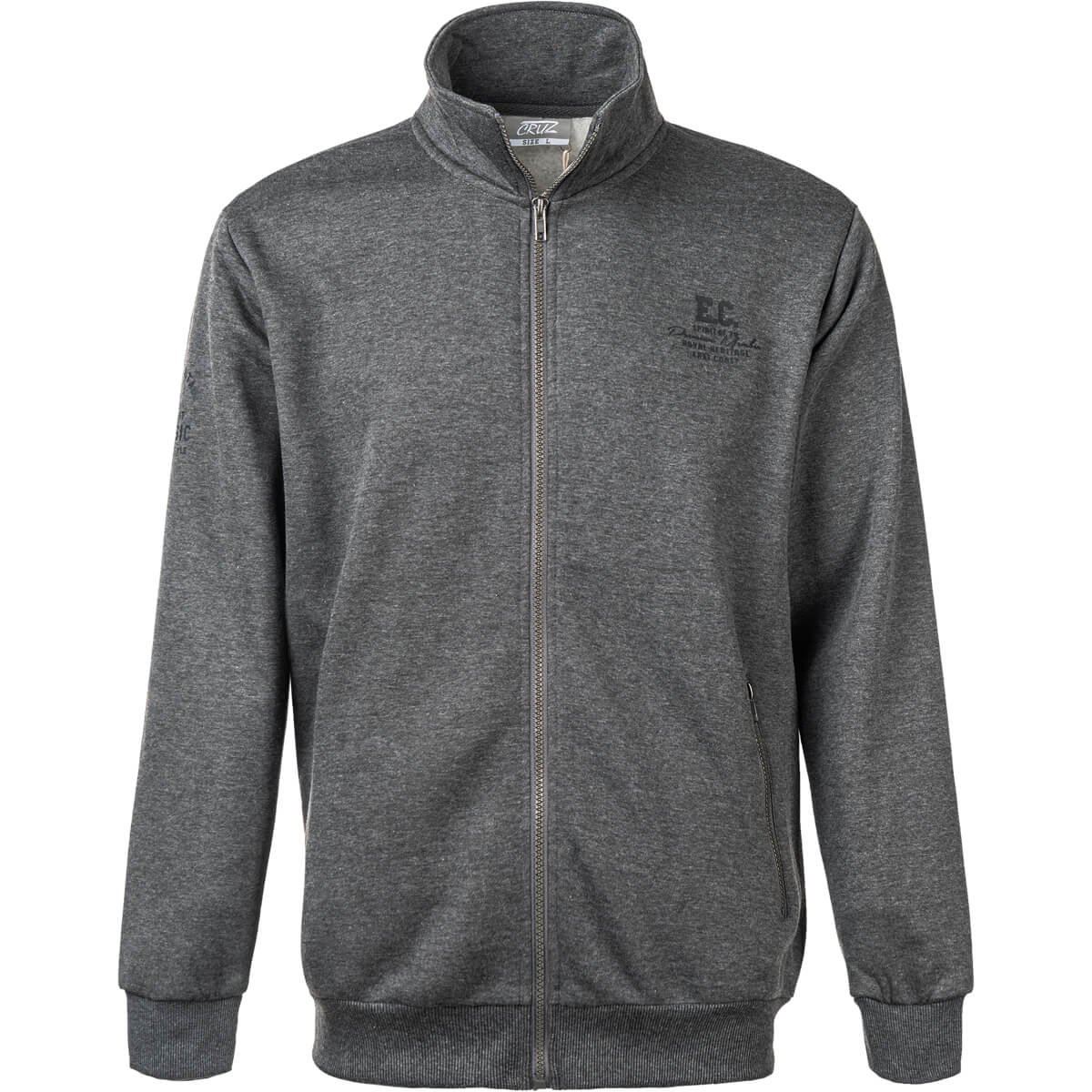 Cruz Anuger Full Zip Sweat Trøje Herre