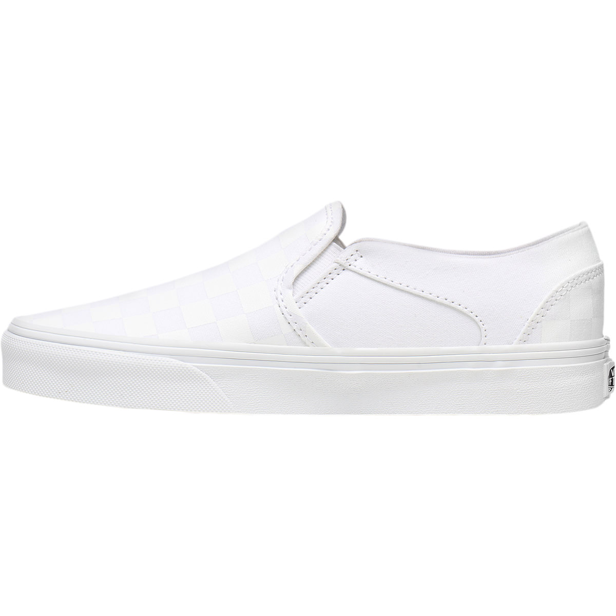 Vans Asher Checkerboard Canvas Slip-On Sneakers Dame