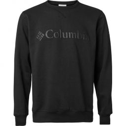 Columbia Logo Fleece Crew Sweatshirt Herre
