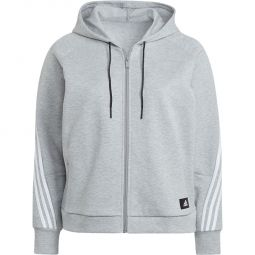 adidas Plus 3-Stripes Full Zip Hættetrøje Dame