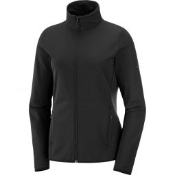 Salomon Outrack Full Zip Mellemlag Dame