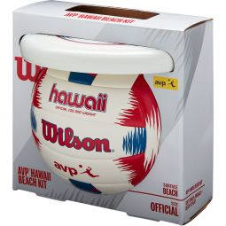 Wilson Hawaii AVP Beach Kit Volleybold + Frisbee