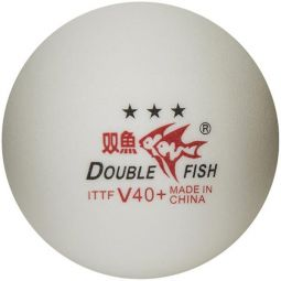 Double Fish Table Tennis Ball 10-Pack - 3 Star