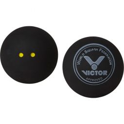 Victor Squashball Double Yellow 2-Pak