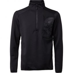 The North Face Merak 1/4 Zip Midlayer Fleecetrøje Herre