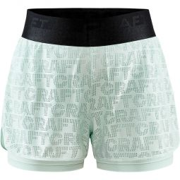 Craft Core Charge Logo Løbeshorts Dame