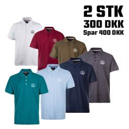 Fort Lauderdale Polo T-shirt Herre - 2 Stk.